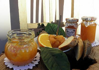 marmeláda mix citrusů s vůní skořice