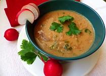 Ředkvičková polévka od maminky