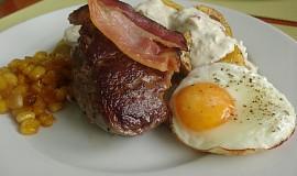 Steak z vepřové panenky paní Colombové