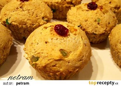 Vánoční muffinky bez lepku, mléka a vajec