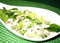 Zelený těstovinový salát s tuňákem