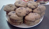 """""""Žvýkavé"""" čokoládové cookies ze smetanového sýra"""