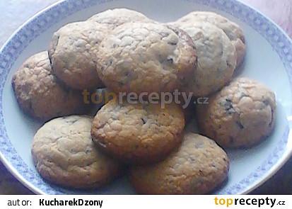 Americké Cookies ,,dle mé receptury'