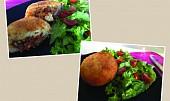 Arancini - rýžové koule plněné hovězím ragú