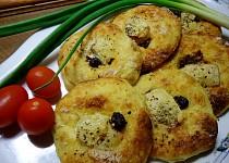 Bramborové koláče s Hermelínem a parmazánem