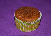 Celozrnné mrkvové muffiny