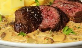 """Hovězí steak """" Stroganoff """" (Stroganov)"""