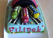 Inspirace na potahované dorty