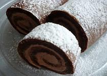 Kakaová roláda bez mouky