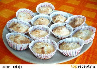 Kokosovo-ananásové muffiny