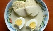 Koprová omáčka s vejci