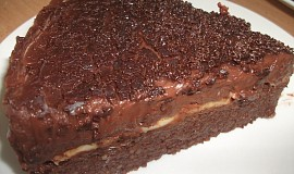 Kuskusový čoko dortík