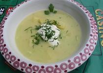 Okurková polévka - VAŘENÁ