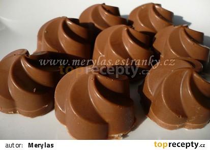 Plněné čokoládové pralinky