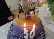 Rockový dort
