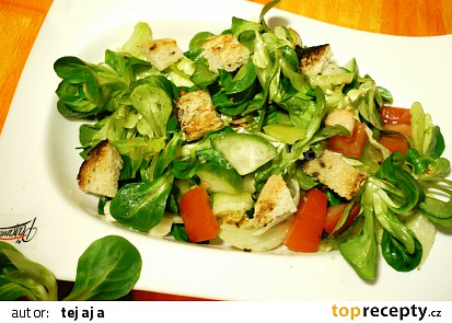 Rychlý chutný zeleninový salát