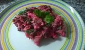 Šebestiánský salát s červenou řepou ( z pořadu Herbář)