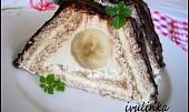 Smetanový dortík z Be-be sušenek