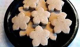 Sušenky z kaštanové mouky bez lepku, mléka a vajec