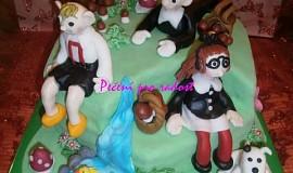 Čokoládový korpus na dort