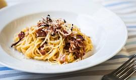 Italské špagety Carbonara