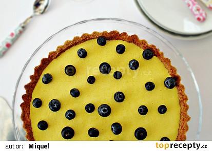 Kokosový koláč s mangovým krémem