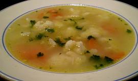 Květáková polévka - vegan