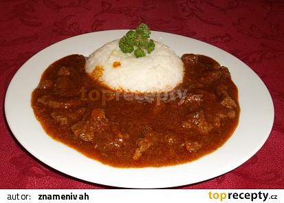 Maďarský tokáň z hovězího masa