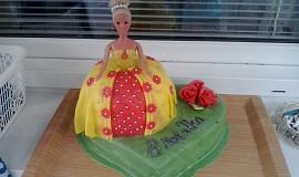 Marcipánový dort