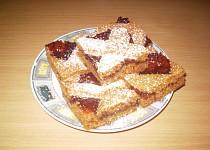 Medový mřížkový koláč