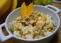 Ovocný salát s kuskusem