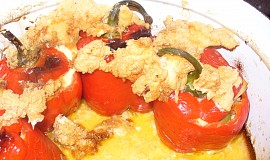 Peruánské plněné papriky