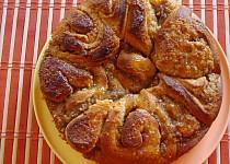 Pomerančovo-ořechový koláč