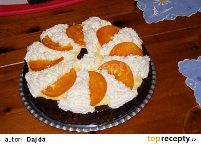 Pomerančový dort s čokoládou