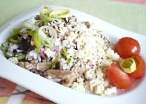 Rizoto z pohanky a rýže