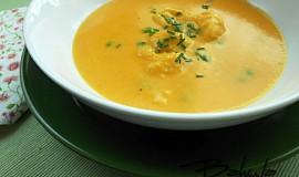 Slezská mrkvová polévka