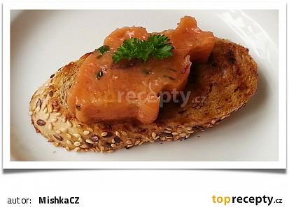 Tataráček z lososa