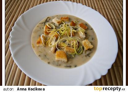 Vylepšená pórková polévka