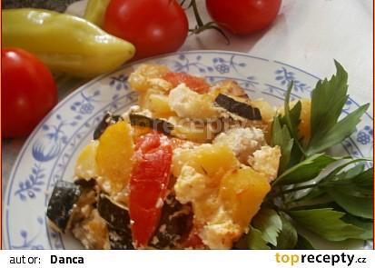 Balkánský pekáček s kuřecím masem