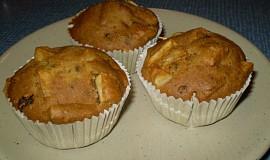 Banánové muffiny - vegan