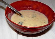 Čočková polévka s vaječným koňakem  podle Tejajky