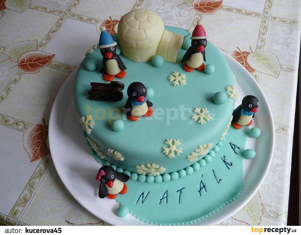 dort k 1 narozeninám Dort pro mou vnučku Natálku k 1. narozeninám recept   TopRecepty.cz dort k 1 narozeninám