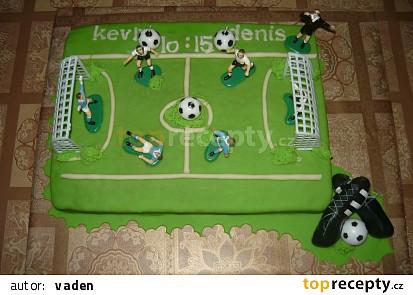 Fotbalové hřiště pro dva fotbalisty(10 a 15let)