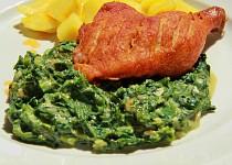 Hlávkový salát jako špenát