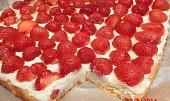 Jahodové řezy s vanilkovým krémem