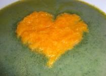 Jarní polévka se srdíčkem