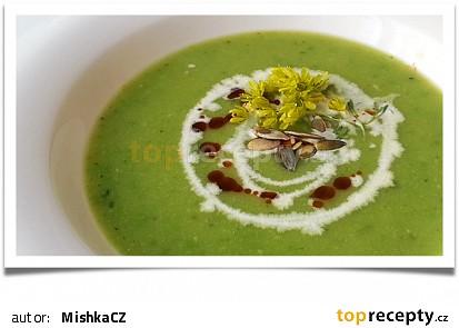 Jarní zelená polévka