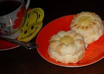Kokosové bábovičky plněné citronovým krémem