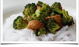Krůtí s brokolicí