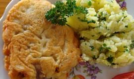 Kuřecí řízky v sýrovo-vinném těstíčku